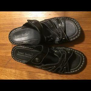 Josef Seibel sandals in black